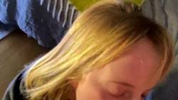 Adorable Teen Blows Cock And Gets Huge Cumshot In Her Eye