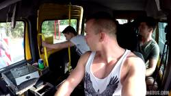 Blonde Hardcore Gangbang In Czech Bang Bus