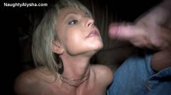 Blonde Milf Gets Jizzed