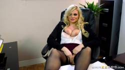 Blonde Office Slut Katy Jayne Getting Fucked
