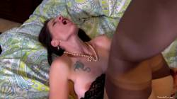 Brunette Wife Shared And Creampied