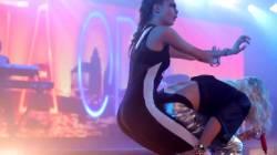 Cara Delevingne & Rita Ora Grinding On Stage