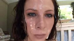 Gianna At Her Happiest, Covered In Cum