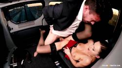Interracial Gets Sensual Sex While In Car