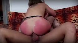 Isabel Is Spanked Then Used