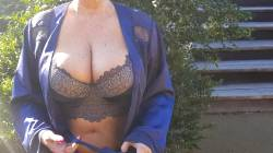 It Was Early Morning, Windy And Bloody Cold, But That Didn't Stop Me Doing A Titty Reveal ? Goodnight Xx 54yo F ???