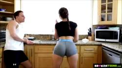 Leah Gotti – Gorgeous Leah Gotti Fucks As Hard As She Trains – Broken Teen