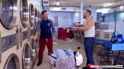 Lennox Luxe Gets Fucked At The Laundromat