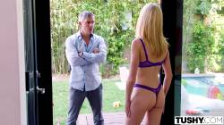 Mazzy Grace – Neighbor Visits The Morning After One Of Her Parties