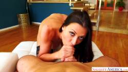 Rachel Starr Strokes Out A Load