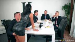 The Dinner Party , Adriana Chechik, Keiran Lee, Ramon, Toni Ribas , Xander Corvus