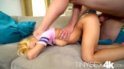Tiny Teen Pussy Getting Fucked Face Down Ass Up