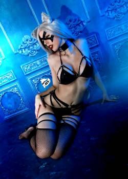 Blakcat Lewd Cosplay By Kate Key